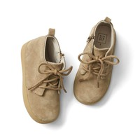 Suede lace-up booties | Gap