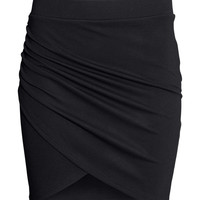 H&M - Wrap-front Skirt
