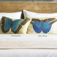 Linen Papillon Pillows - VivaTerra