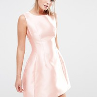 New Look Satin Structured Prom Dress