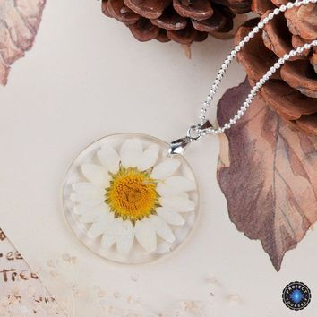 Eternal Spring Flower Pendant Necklace