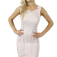 Skylar Double Lace Up Dress