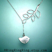 adjustable sterling silver necklace chain Twitter by RingRingRing