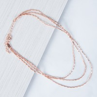 Sparkly Waves Choker