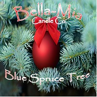 Blue-Spruce Tree Natural Hand Poured Soy Candles
