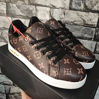 Louis Vuitton new autumn and winter shoes sneakers men's all-match one-step casual shoes