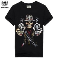 Hot Selling Casual Male T-shirts For Men O neck 3D Fashion Tshirt Man Active Cool Design Mens Clothing T shirt