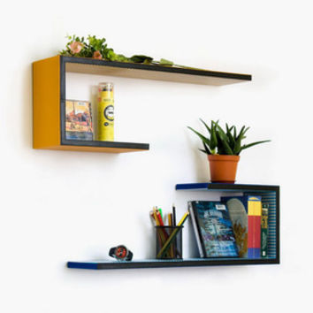 Corner Attraction Wall Shelf - Set of 2