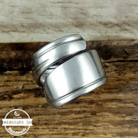 Wrap Around Stainless Steel Spoon Ring
