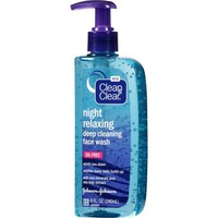 Clean & Clear Night Relaxing Deep Cleaning Face Wash, 8 fl oz - Walmart.com