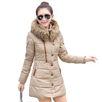 manteau femme winter jacket women coat parka thicken womens jackets and coats abrigos y chaquetas mujer invierno 2017 parkas for