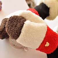 New Fashion Girls' Stretchy Soft Warm Winter Warm Full Finger Female Thick Halter Faux Gloves Women
