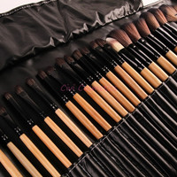 Stock Clearance !!! 32Pcs  Makeup Brushes Professional Cosmetic Make Up Brush Set The Best Quality! = 1748269956