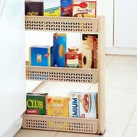Large Slim Rolling Soda Cans Vegetable or Soup Can Canned Goods Laundry Organizer