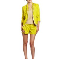 Robert Rodriguez Women`s Cropped Piped Jacket