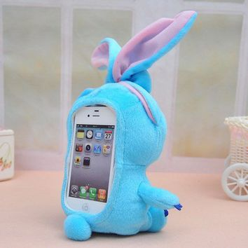 Cute Cartoon Hard and Soft Case Cover For Iphone 5