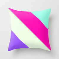 Tropical #2 Throw Pillow by Ornaart