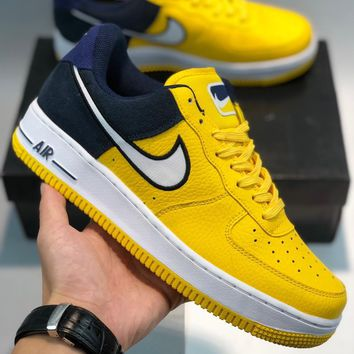 """Nike Air Force 1 '07 LV8""""white  blue-grey"""" cheap Men's and women's nike shoes"""