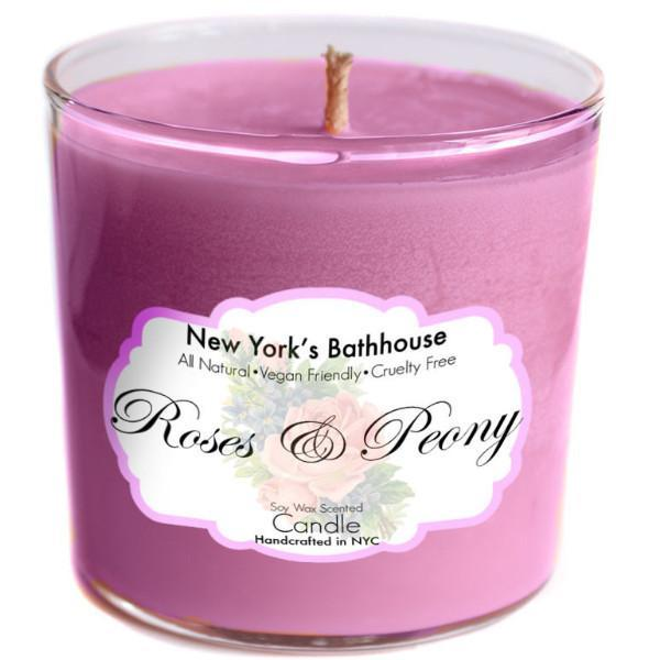 Image of Roses & Peony Soy Wax Candle