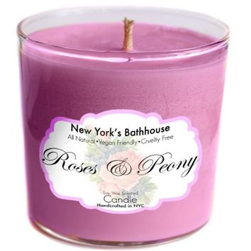 Roses & Peony Soy Wax Candle