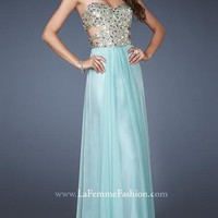 Sweetheart Beaded Floor-length Empire Evening Dress Style 18602,Sexy Prom Dresses