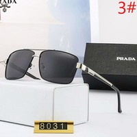 PRADA Fashion New Polarized Drive Sunscreen Travel Leisure Glasses Eyeglasses Men
