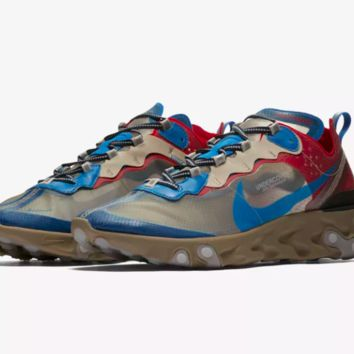 Nike React Element 87 Undercover -  Light Beige / Chalk