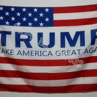 Donald Trump Make American Great Again Flag hot sell goods 3X5FT 150X90CM Banner brass metal holes DT01