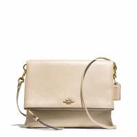 MADISON FOLDOVER CROSSBODY IN LEATHER