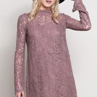 """""""Luxe"""" Lace Shift Dress"""
