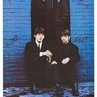 The Beatles London Palladium 1963 Poster 22x32