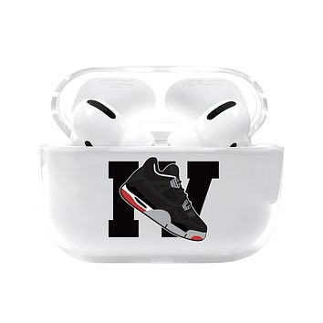 Large Jordan 4 Retro Shoe Emoji Airpods Pro Case