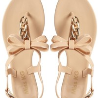Miss KG Dolly Nude Jelly Sandals