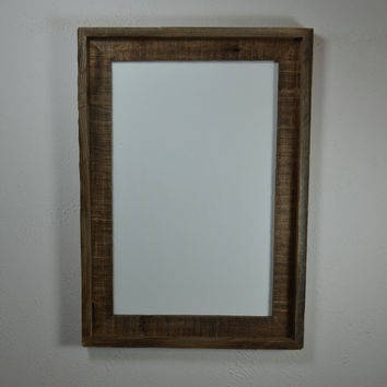 11x17 poster frame from eco friendly reclaimed wood