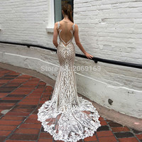 FASHION Sexy White Mermaid Prom Dresses 2016 Tank Appliques Lace Sweep Train Ceremonial Dress Plus Size Special Occasion