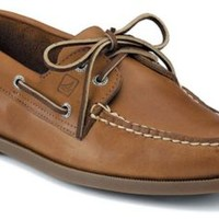 Sperry Top-Sider Authentic Original 2-Eye Boat Shoe SaharaLeather, Size 10.5M  Men's Shoes