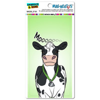 Cow - Black and White Cattle Milk Farm Moo MAG-NEATO'S TM Car-Refrigerator Magnet