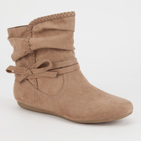 REPORT Elora Bow Slouch Boots | Boots & Booties