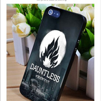 Dauntless divergent iPhone for 4 5 5c 6 Plus Case, Samsung Galaxy for S3 S4 S5 Note 3 4 Case, iPod for 4 5 Case, HtC One for M7 M8 and Nexus Case
