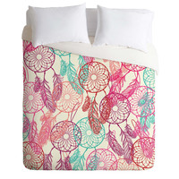 Mary Beth Freet Dream Catchers Duvet Cover
