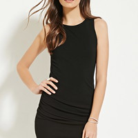 Contemporary Ruched-Side Dress