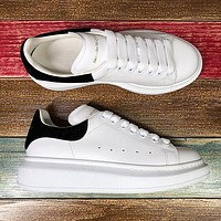 Alexander McQueen Classic white shoes-23