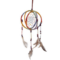 Yarn Wooden Beaded Dream Catcher on Sale for $13.95 at HippieShop.com