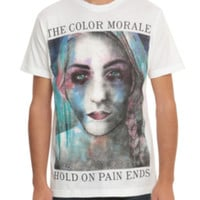The Color Ends Hold On Pain Ends T-Shirt