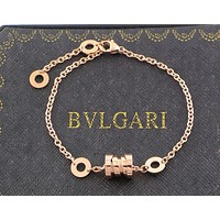 BVLGARI B.zero1 Series 2018 New Spring Couple Bracelet F-HLYS-SP rose gold