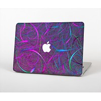 """The Purple and Blue Electric Swirels Skin Set for the Apple MacBook Pro 13"""""""