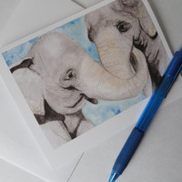 Blank Art Cards - You choose your Design - Greeting Card - Note Card