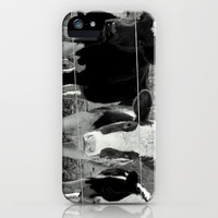 Cows Photography iPhone & iPod Case Phone Case Black and White