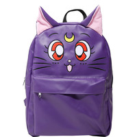 Sailor Moon Luna PU Character Backpack
