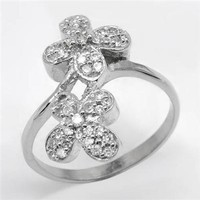 Ladies Ring Made Of 925 Sterling Silver - Silver Jewelry Shop - Modnique.com
